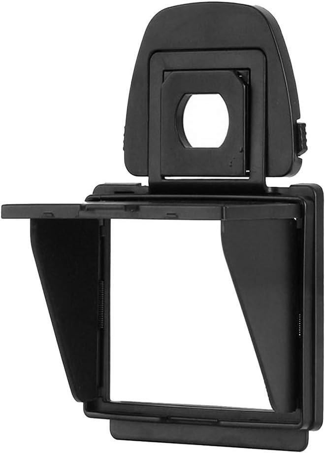 Gazechimp Removable Camera LCD Screen Cover Protector LCD Hood Sun Shade for Nikon D5 Camera