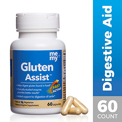 Me and My - Gluten Assist, Helping You Give Gluten the Boot, 60 Capsules by Me + My