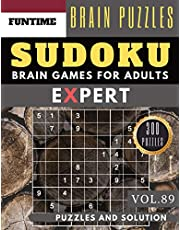 SUDOKU Expert: 300 SUDOKU extremely hard puzzle books | sudoku hard to extreme difficulty Maths Book Puzzles and Solutions times for Adult and Senior (hard sudoku puzzle books Vol.89)