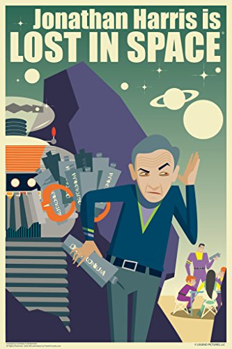 Jonathan Harris Is Lost In Space by Juan Ortiz Art Print Poster...