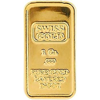 Amazon Com American Coin Treasures 1 Gram Swiss Ingot