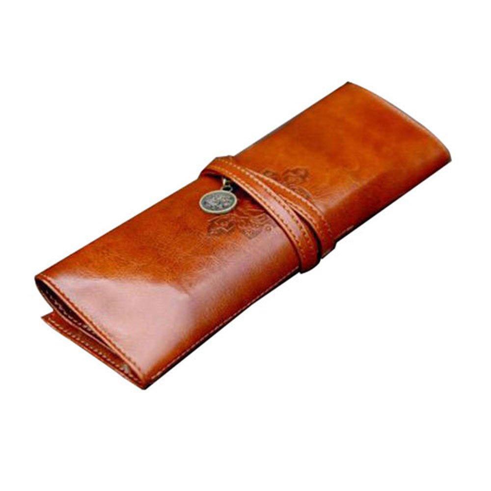 Leegoal Twilight Retro Bandage Synthetic Leather Pen Bag Pencil Case Makeup P.. 12