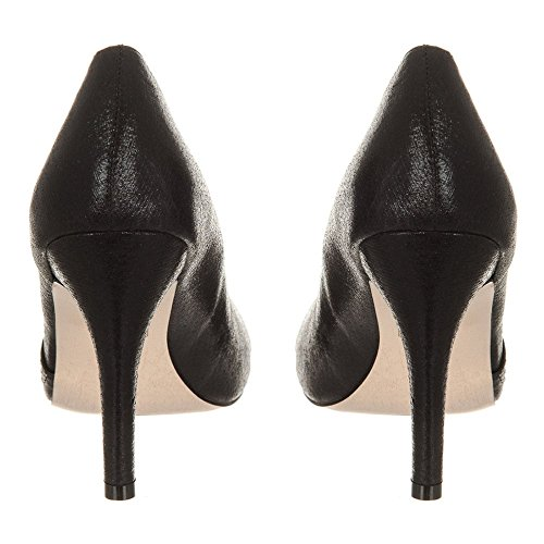 De Diamante Ouvert Black Open Talon Diamante Joy Noir Toe Medium Joie Moyen Chaussure Bout Shoe Heel 4OxPpaq