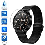 Huawei Watch Screen Protector, Vistore Ultra-thin Shatterproof Anti-Scratch HD Clear Tempered Glass Screen Protector(2 pcs)