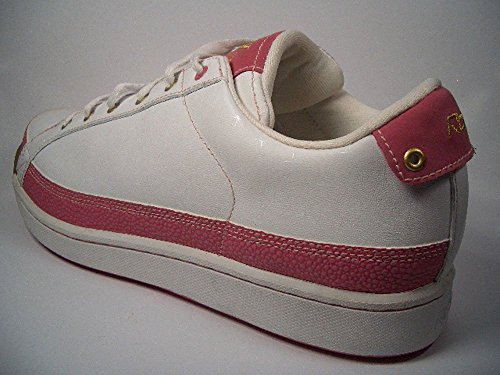 Reebok DJ Court Women 10–17179Blanco de color rosa Tamaño Euro 40,5/US 9,5/UK 7/26,5cm