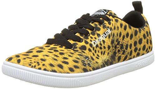 Desigual Shoes_candem W, Zapatillas de Running Mujer Negro (2000 Negro)