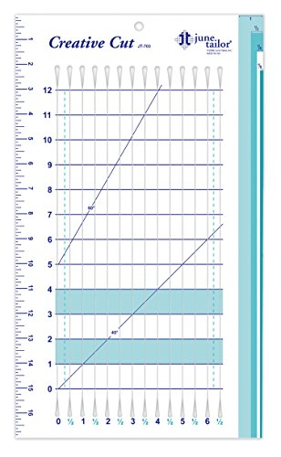 June Tailor 10-Inch-by-17-Inch Creative Cut Ruler by June Tailor