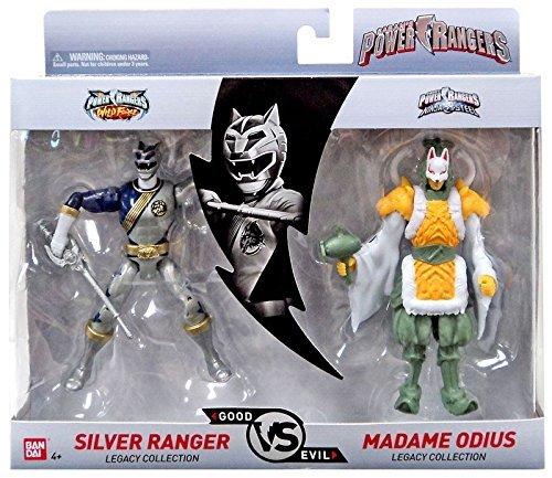 Bandai Power Rangers Legacy Collection (Silver & Madame ODIUS) ()