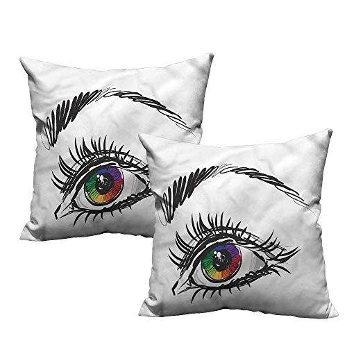 (Etienne Aigner King Size Pillow Cases Set of 2 16