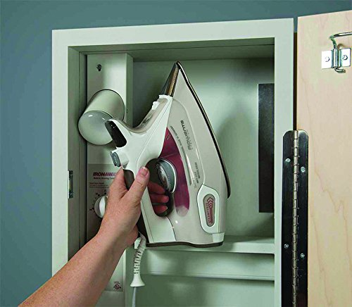 Iron-A-Way Deluxe Swivel Electric Ironing Center, Raised Maple Panel Door by Iron-a-Way (Image #3)