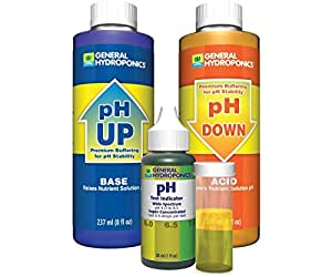 General Hydroponics GH1514 General Hydroponics Ph pQvHlH Control Kit (Pack of 3)