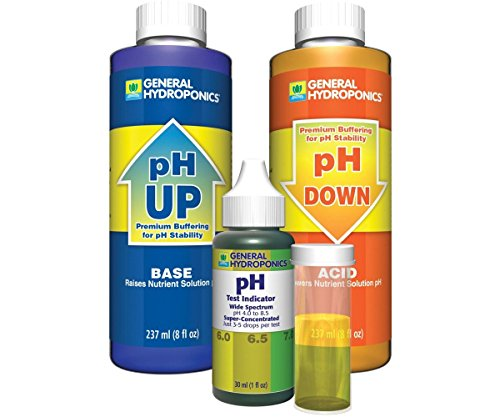 General Hydroponics GH1514 General Hydroponics Ph FxfgWS Control Kit (Pack of 2) by General Hydroponics