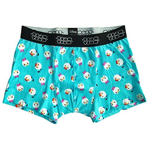 Boxers Daisy - Small Planet Disney Donald & Daisy Tsumutsumu Boxer Briefs Blue L Size AWDS4569