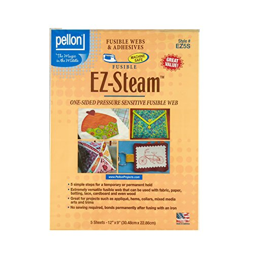 EZ-Steam Sheets One-Sided Sticky Back Fusible (Sticky Web)