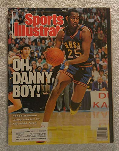 - Danny Manning - Kansas Jayhawks - 1988 National Champions! - Sports Illustrated - April 11, 1988 - Oklahoma Sooners - College Basketball - SI