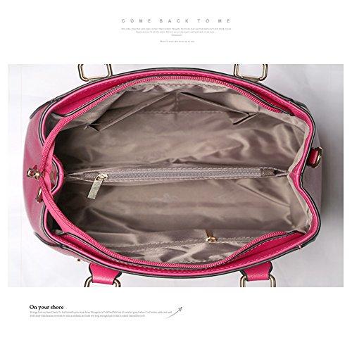 Yoome Crossbody Schultertasche Tote Geldbörse Satchel Messenger Handtasche Makeup Beutel Tasche Beiläufige Taschen - Creme