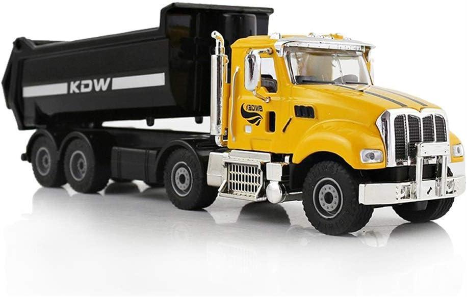 Automóvil modelo de fundición a presión modelo de coche de Ingeniería de Vehículos de aleación modelo de coche volcado del camión volquete de la construcción del sitio de camiones de metal Colección r