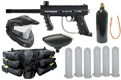 Accessories 98 Model Tippmann (Wrek Paintball Model 98 Platinum Basic Paintball Gun Package)