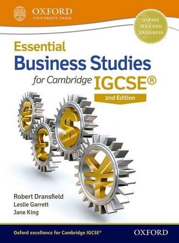 Igcse Business Studies Textbook Pdf