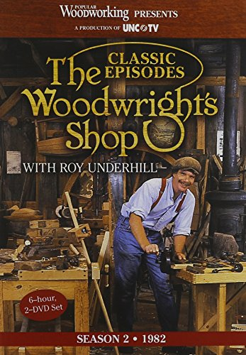 The Woodwright's Shop (Season 2): Roy Underhill's Classic Episodes on Handtools & Woodworking by Popular Woodworking Magazine