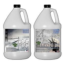 Froggy\'s Fog Designer Select - 1 Gallon each of Backwood Bay and Bog Fog