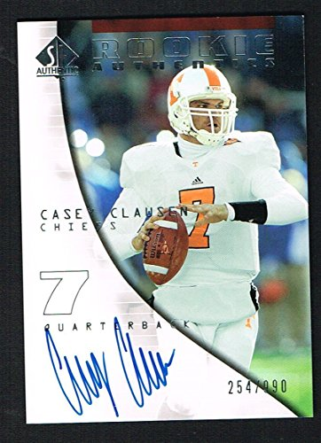 Casey Clawsen 2004 Upper Deck SP Authentic signed autograph auto Trading Card
