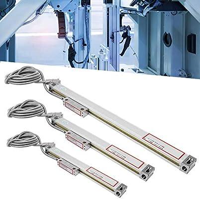JCS900-2AE//JCS900-3AE Axis DRO Regla de Lectura Digital de aleaci/ón de Aluminio Escala para codificador de tornos Yanmis 2 Piezas Escala Lineal