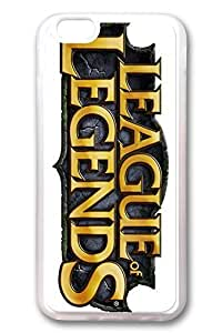 iPhone 5c Case, 5c Case - Crystal Clear Soft Rubber Case for iPhone 5c League Of Legends Logo Ultra Clear Back Panel with Customized Design for iPhone 5c