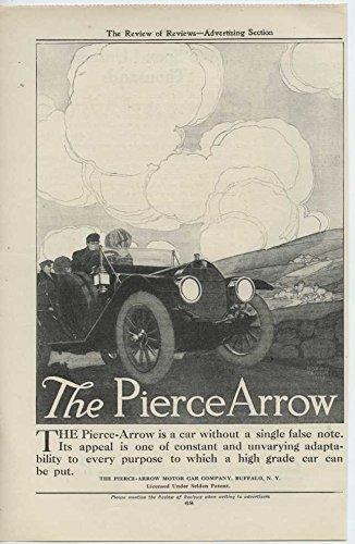 1910 Pierce Arrow Car Buffalo NY Automobile Magazine Ad Holeproof Hosiery (Pierce Arrow Buffalo)