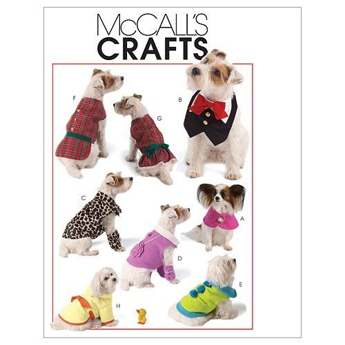 McCall's Patterns M5998 Pet Clothes, All Sizes by McCall Pattern Company by McCall Pattern