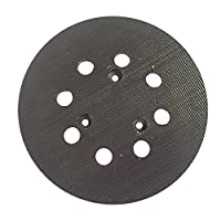 MTP 5 inch Diameter 8 Hole Sander Hook and Loop Pad Replaces Makita Part Number 743081-8, 743051-7 and Hitachi Part Number 324-209 (1 pk)