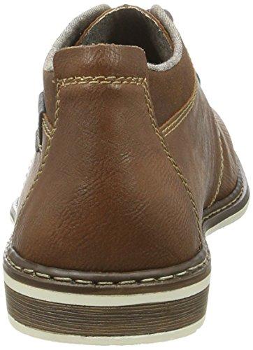 Rieker 13405, Zapatos de Cordones Derby para Hombre Marrón (Mandel/Sherry/ozean / 24)