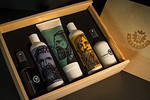 Beardsley In The Box Beard Care Gift Set - Full Size Beard...