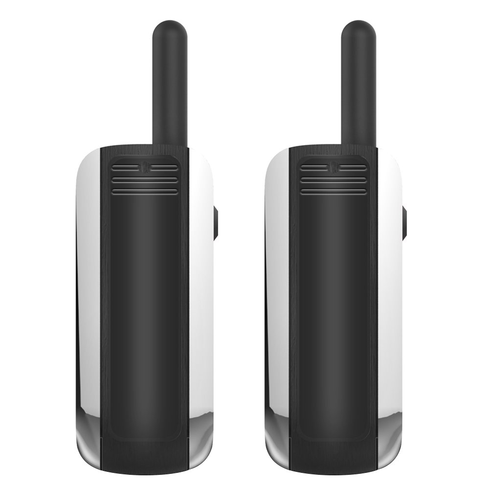 Eoncore Mini Walkie Talkies 16 Channels Long Range 3 Mile Two Way Radio with USB Port Earpieces 2pcs by Eoncore (Image #5)