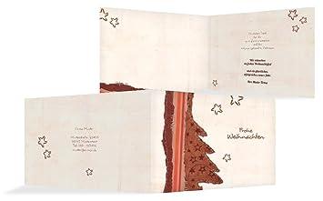Weihnachtskarten Per Mail.Weihnachtskarten Weihnachts Grußkarte Geschäftlich Stoffbaum