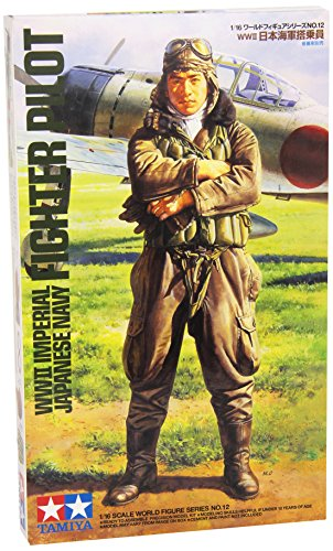 1:16 WWII Imperial Japanese Nacvy Fighter Pilot Model