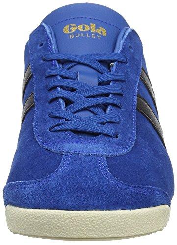 Gola Herren Kugel Suede Fashion Sneaker Marineblau / Schwarz