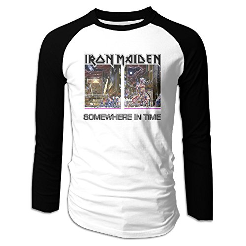 Iron Maiden Somewhere In Time Man Long Sleeve T-Shirts