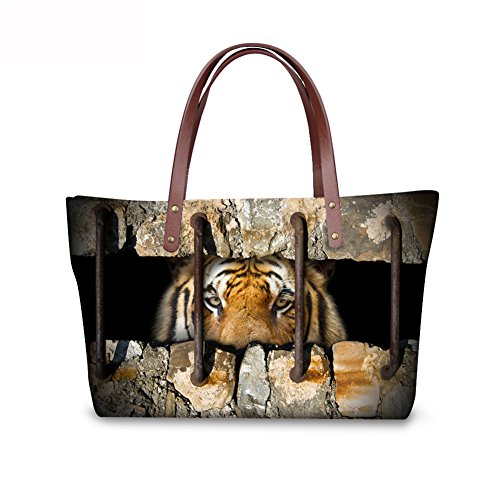 Top FancyPrint Shoulder Satchel Women C8wc4435al Vintage Handle Handbags Bags PIzIpA
