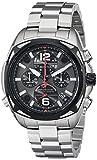 Bulova Men's 98B227 Precisionist Analog Display Japanese Quartz Silver Watch