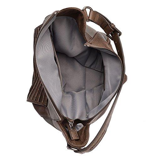 Fredsbruder Tasche Grande Partita Perfetta In Grau