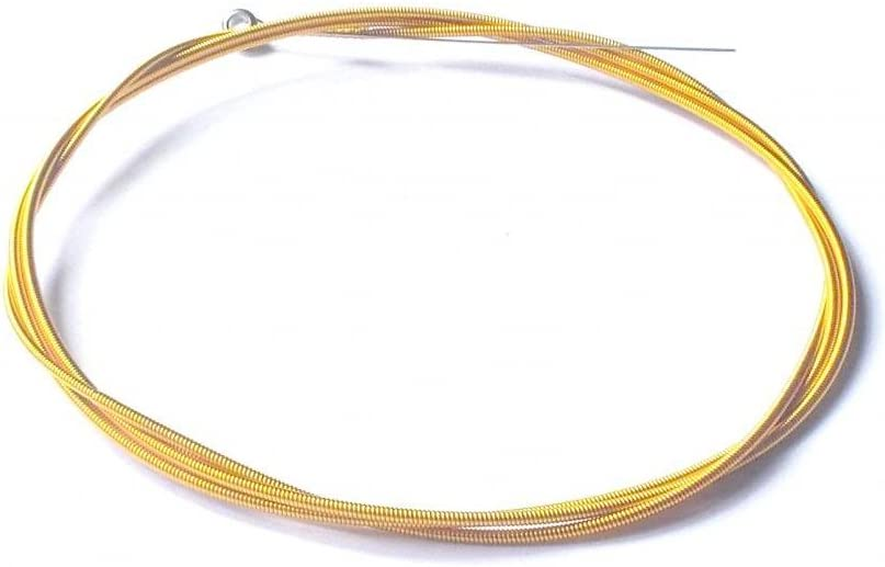 Generic Colored Single Electric Bass Strings 3rd A 0.075 Gold
