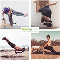 Feetup - Banco de yoga con reposacabezas: Amazon.es ...