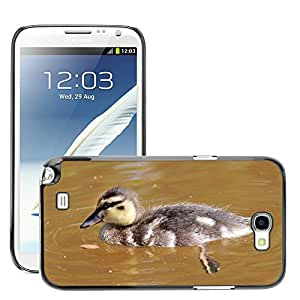 Super Stella Slim PC Hard Case Cover Skin Armor Shell Protection // M00145067 Bird Duck Bebe Chicken Water Animal // Samsung Galaxy Note 2 II N7100