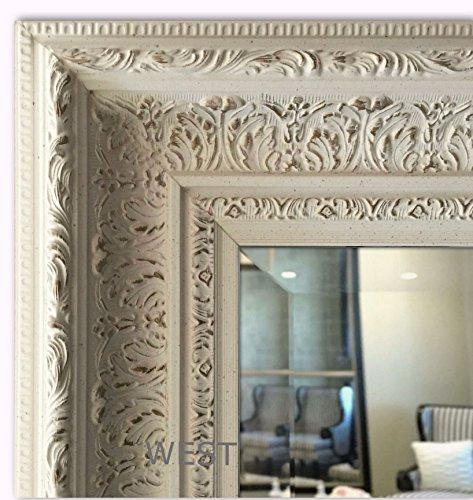 31 Inch Antique - West Frames Elegance Ornate Embossed Wood Framed Wall Mirror (27