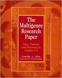 camille allen multigenre research paper A multigenre paper arises from research, experience, and imagination it is not an uninterrupted from camille allen's the multigenre research paper (2001).