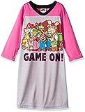 Super Mario Brothers Big Girls' Super Mario Nightgown, Princess Peach Pink, 8