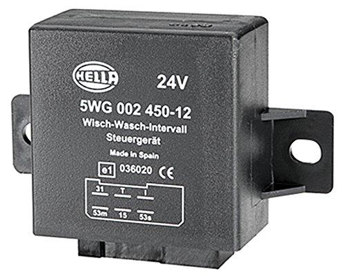 mit Halter Wisch-Wasch-Intervall 24V HELLA 5WG 002 450-121 Relais