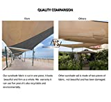 Tronssien Rectangle 10'x13' Sun Shade Sail,95% UV