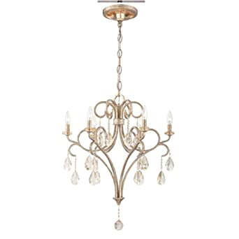 Amazon world imports lighting 23077 caruso collection 6 light world imports lighting 23077 caruso collection 6 light silver chandelier by world imports lighting mozeypictures Image collections